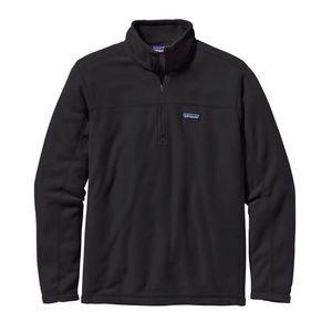 Patagonia black Micro  D® Fleece Pullover Sz L